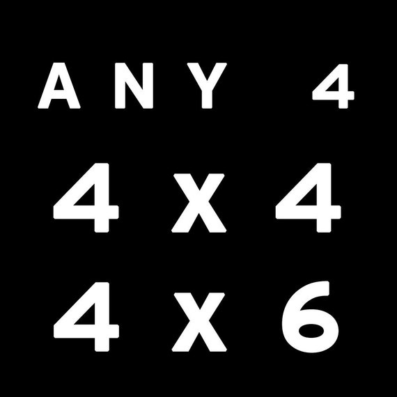 Any Four 4x4 or 4x6 Prints  wall art by bomobob