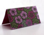 Checkbook Cover Amy Butler Pink Flowers LAST ONE