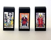 Rider Waite Tarot Card Blocks Set of 3