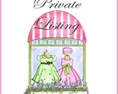 Private Custom Listing for Gulleygirls...perfect for a Magical Vacation