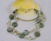 A Touch of Green Bracelet