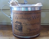 Primitive Vintage Tin Cup Laundry Room by sweetlibertyprims on etsy