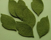 Wool Felt Leaves - Great with Our Large Posies   XLarge Leaves, Autumn Leaves, Felt Leaves, Felt Embellishment, Leaf Garland