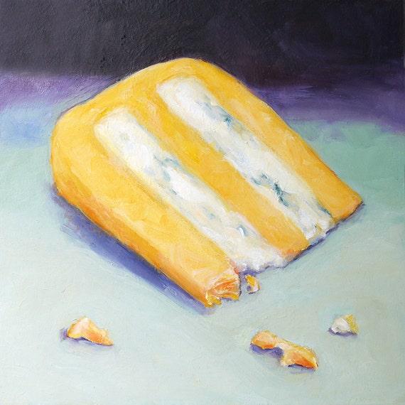 Huntsman Cheese Wedge Original Oil