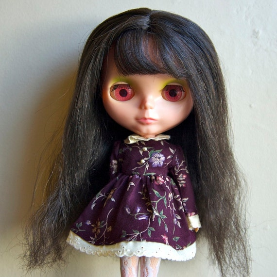 wuthering heights vintage dress for blythe