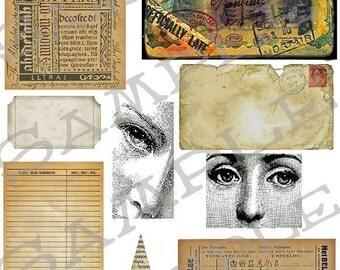 Ephemra Bits n Pieces Collage Sheet 6