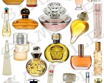 Designer Perfumes Collage Sheet FR