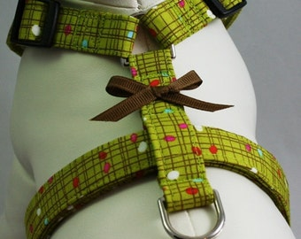 Dog Harness - Vintage Formica