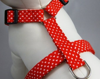 Dog Harness - Queen of Hearts