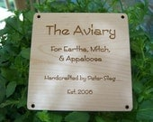 Wood Signs With Your Text and Graphics
