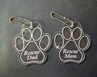 Pet Rescue Key Chain
