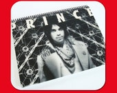 PRINCE - Recycled Vintage Record Album Cover Spiral Bound Nature Saver Notebook/Journal