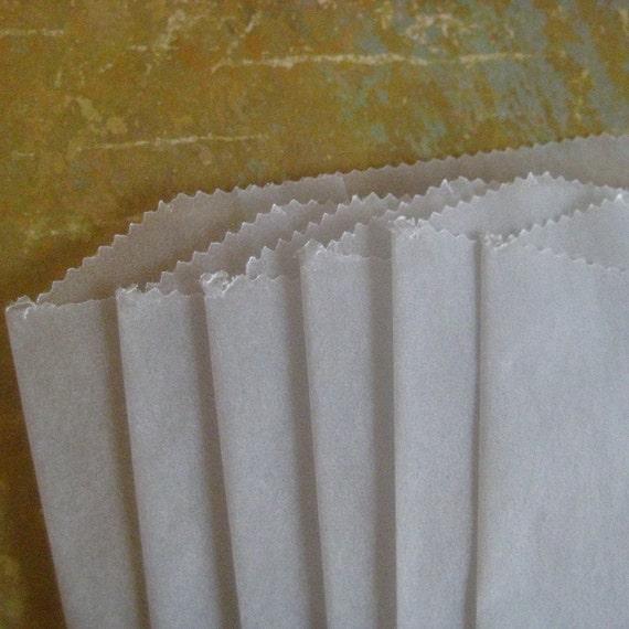 50 Flat Glassine Bags 4.75 X 6.75