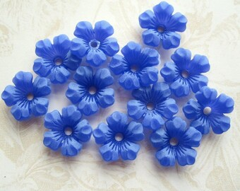 Lucite Flower Bead - 50!