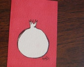 Spring Cleaning Sale - Pomegranate - Original ACEO by Ayrielle Davis