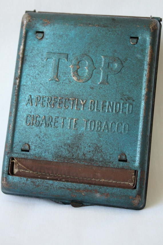 Vintage 1940s Top Brand Metal Cigarette Roller And By