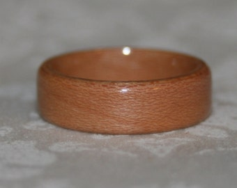 Bent Wood Ring - Dogwood (or Wood of Your Choice)