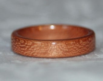 Wooden Ring - Cherry (or custom wood of your choice)
