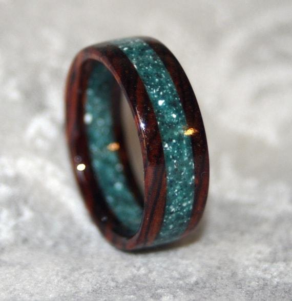 Custom Wooden or Corian Wedding Band or Ring