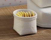 Porcelain Basket (tiny). Design by Wapa Studio.