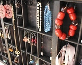 Reinvented, Upcycled Drawer as Jewelry Display