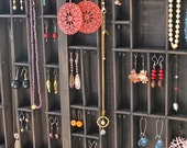 Printers Drawer Jewelry Display