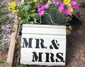 Wedding Sign Mr. and Mrs.