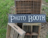 Chalk Paint Photo Booth Sign