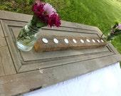 Shabby Chic Barn Lumber Candle Holder