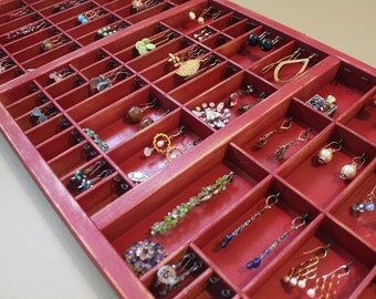 Ruby Red Jewelry Organizer