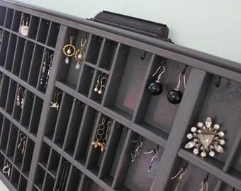Jewelry organizer Printers Drawer by Bluebirdheaven