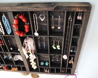 Industrial Chic Jewelry Display