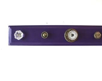 Purple Knob Hanger