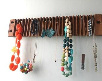 Cigar Mold Display for Necklaces, Belts, Metals