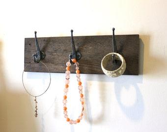 Reclaimed Barn Wood Coat Rack