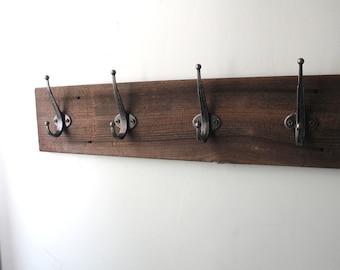 Reclaimed Wood Coat Hanger