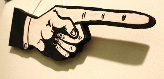 Pointing Finger Sign