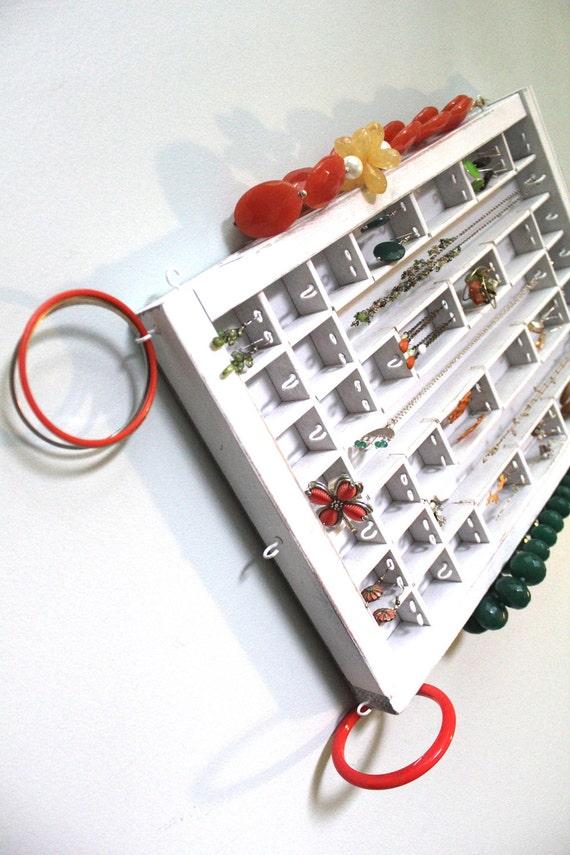 Small Printer Drawer Jewelry Display