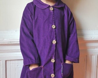The Brooklyn coat -instant download-pdf pattern- 2T to 6T- easy sewing -