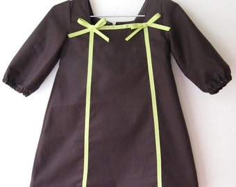 The sasha dress- instant download- pdf pattern 2t to 5T- Easy sewing -