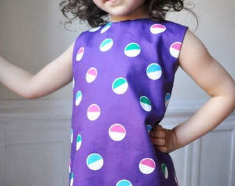 The lollipop reversible dress pattern - Instant download-Pdf pattern - 2T to 10T