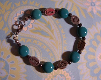 Turquoise Love Bracelet