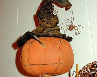 Amelia, A Primitive Pumpkin Pattern from Raven's Haven