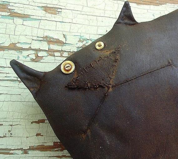 Bobo, a Primitive Folk Art Cat Pattern