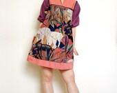 Safari Mini Tent Dress - Vintage\/Customised