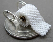 Toilet Paper Pendant, PENDANT ONLY on sterling silver or brass