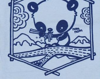 T shirt Panda Ramen Cute kawaii NoodlesT shirt Bear