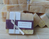 KARMACITA   a Shasta EsScents favorite.  Cocoa butter soap with sweet orange and patchouli essential oil  5 oz.