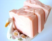 Pink Pink. Ever So Pale Pink Rose, Lily and White Musk Soap