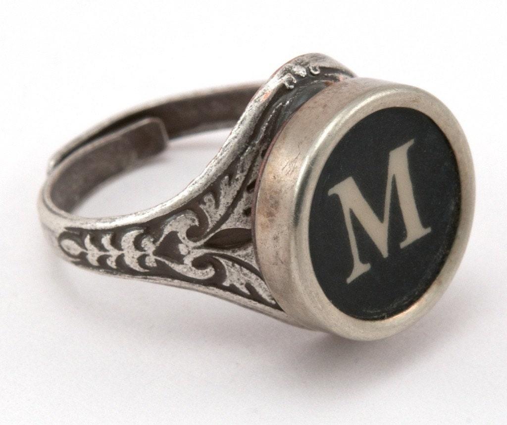 M Letter In Ring Items similar t...